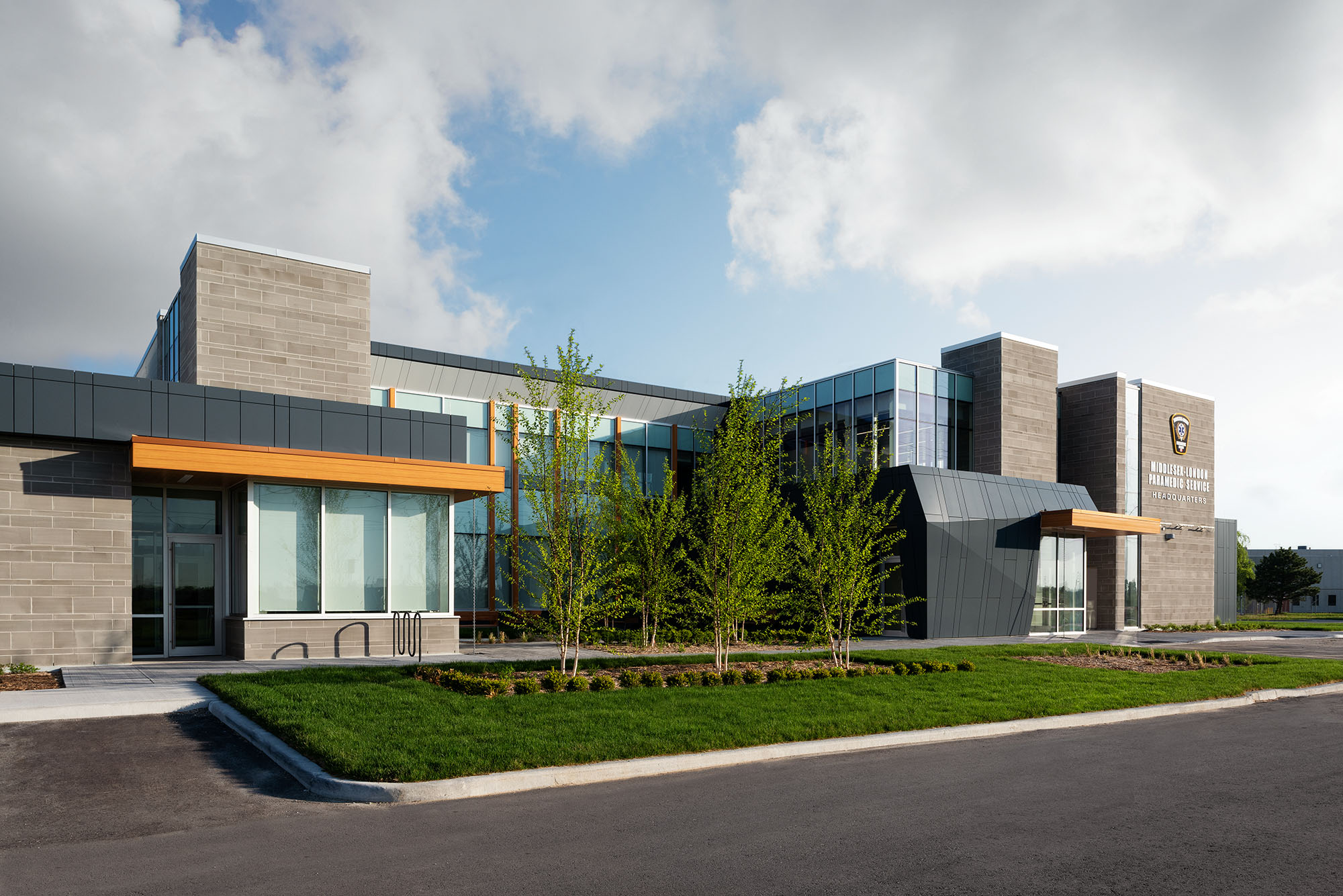Supporting image for Middlesex County EMS New Multipurpose Facility