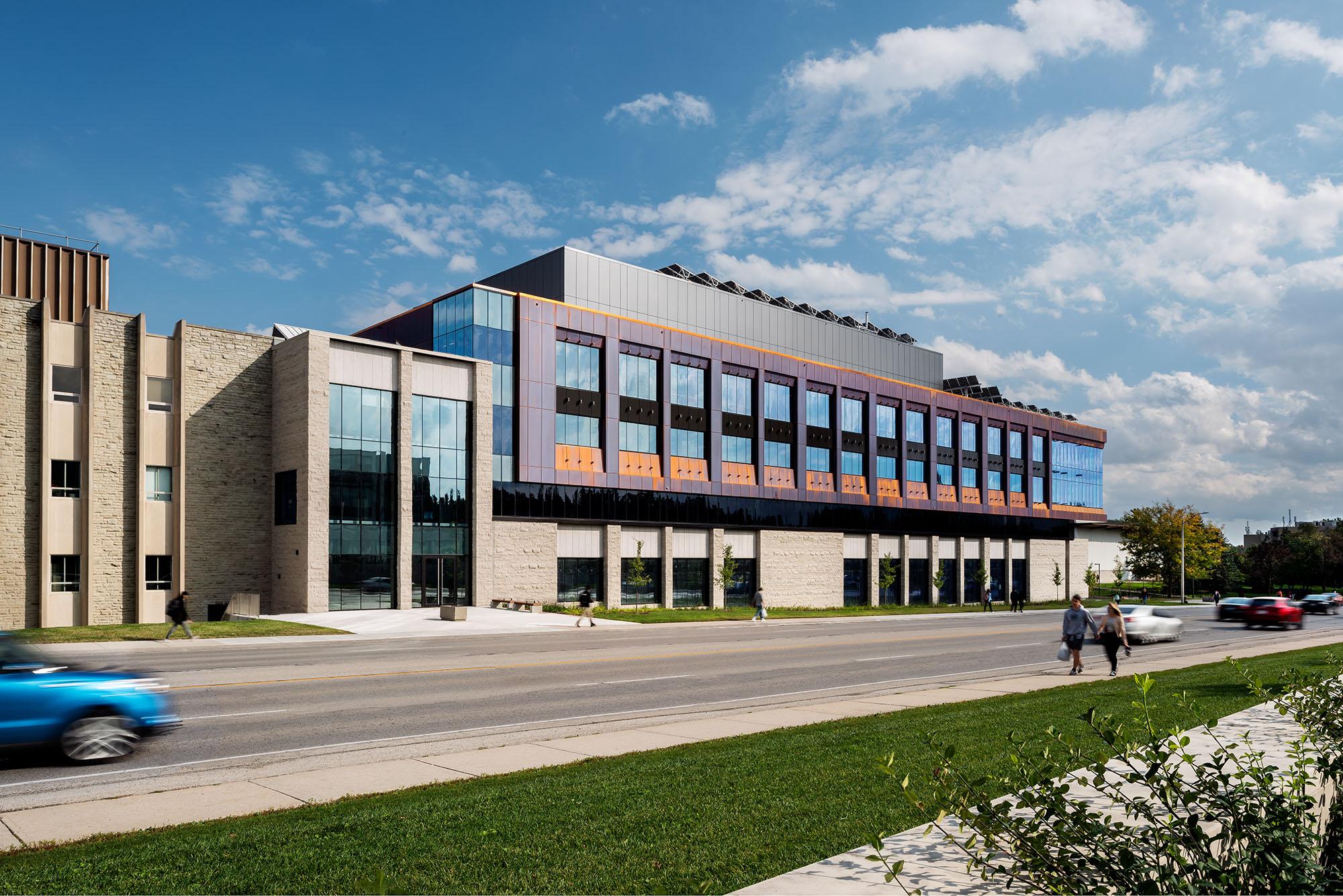Slider image for Western University Engineering Building