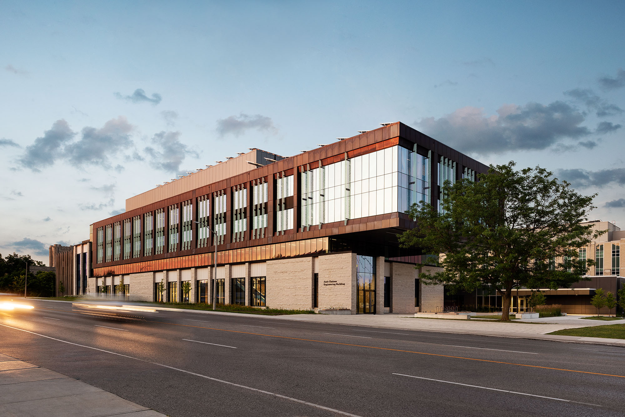 Supporting image for Western University Engineering Building